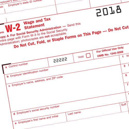 W-2 Extensions - What's New?
