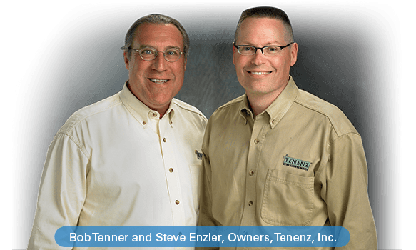 Bob Tenner and Steve Enzler