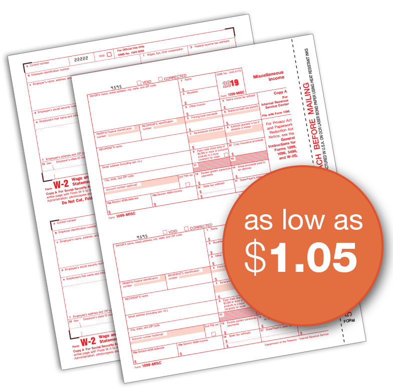 Forms and pricing